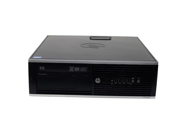 HP Compaq Elite 8300 SFF Desktop Intel 3rd Gen  Quad Core i5-3570 3 40 GHz  8 GB DDR3 RAM 1 TB HD DVD-RW WiFi Bluetooth USB 3 0 Microsoft Windows 8 Pro