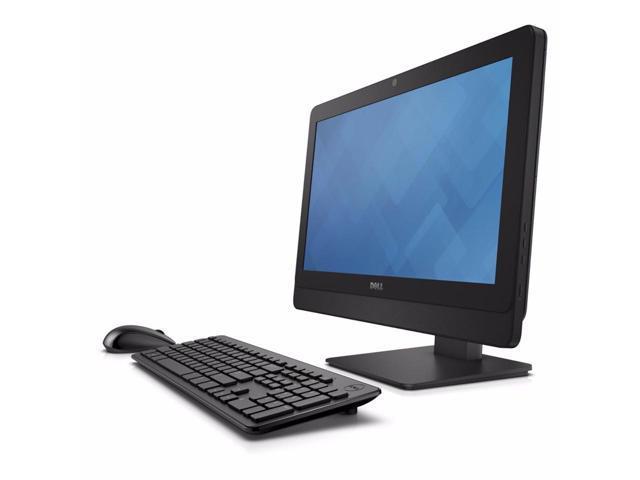 """Dell OptiPlex 3030 LED 19.5"""" 1600 x 900 (HD+) Resolution AiO -4th Gen Intel Core i7-4770 3.4GHz 8 GB DDR3 RAM 500 HDD DVD-RW Webcam Windows 10 Pro 64-Bit"""