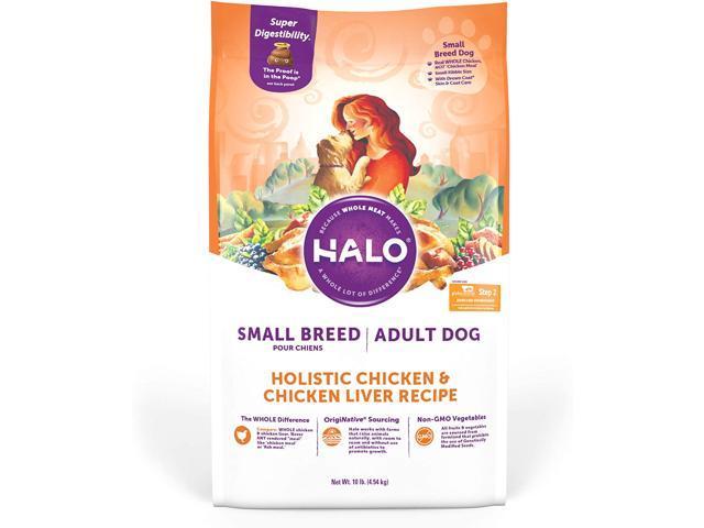Halo Natural Dry Dog food, Small Breed Recipe