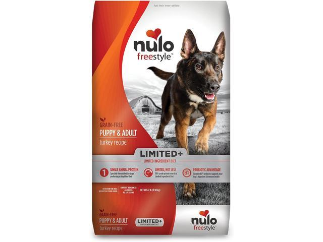 Nulo Puppy & Adult Small Breed Freestyle Limited Plus Grain Free Dry Dog Food: All Natural Limited Ingredient Diet for Digestive & Immune Health - Allergy Sensitive Non GMO - 4.5, 11, or 24 lb Bag