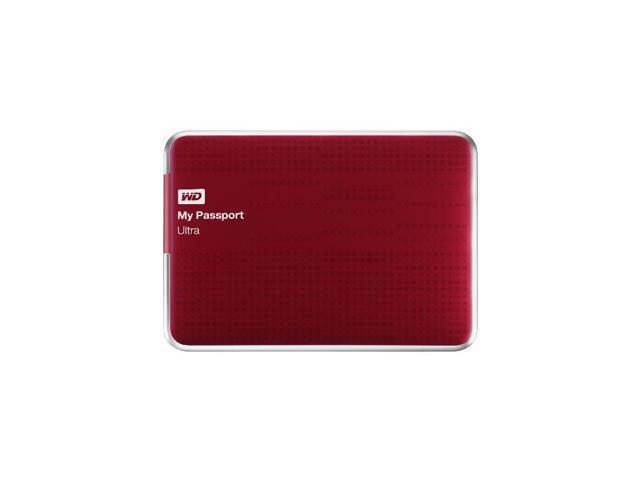 WD My Passport Ultra 500 GB Portable External USB 3.0 Hard Drive with Auto Backup -