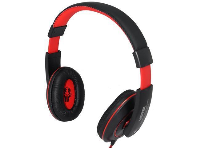 Viotek Vt849mv Hi Fi Headphones 40mm Drivers Mini Jack Interface Microphone Attached For Cell Phone Headset Use Newegg Com