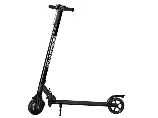 Folding Electric Scooter >> Swagtron Swagger 2 Classic Folding Electric Scooter Newegg Com