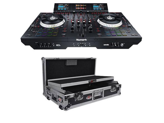 Numark NS7III - 4-Channel Motorized DJ Controller  + Numark NS7II Digital  Controller Flight Case  - Newegg com
