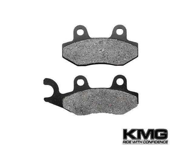 Front Right Organic NAO Brake Pads For 1998-2002 Suzuki LTF 500 Quadrunner
