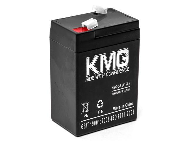 KMG 6V 5Ah Replacement Battery for Hubbell HE612 N4615 PUP PUPXXXX