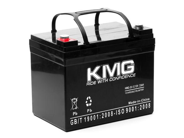 KMG 12V 33Ah Replacement Battery for DCC Shoprider WIZZ TE889NB