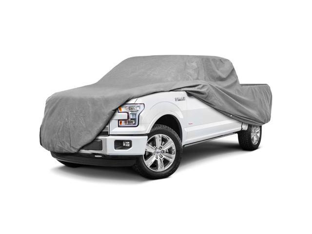 Pickup Truck Covers >> Superior Pickup Truck Cover Waterproof All Weather Covers Breathable Outdoor Indoor Gray Color Fits Pickup Trucks With Extended Cab Standard