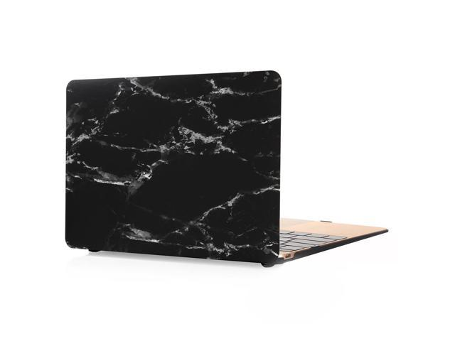 """best service 40fc0 05514 Color pattern hard Rubberized Protection Cover Protective Case for 12 inch  Apple Mac Macbook 12"""" with Retina (Model:A1534), marble-Black/White - ..."""