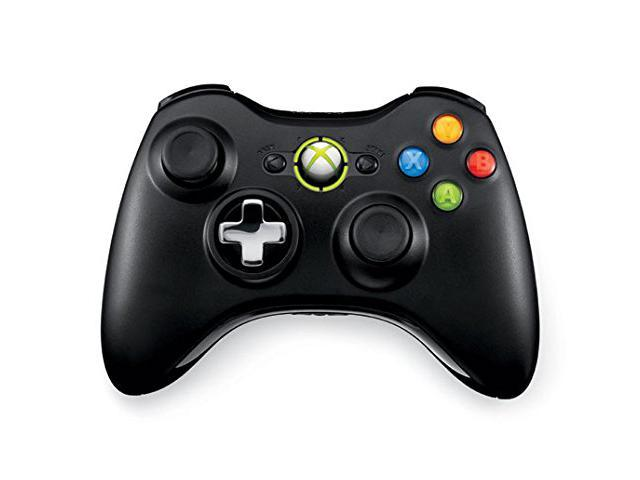 Refurbished: MICROSOFT XBOX 360 WIRELESS CONTROLLER (Black ...