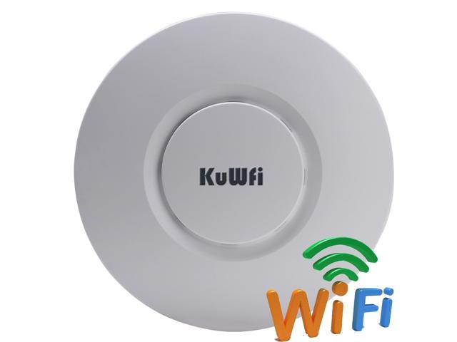 KuWFi SR-9300 Mini 300Mbps Wireless Ceiling Access Point Ceiling AP Router  Ideal for Hotel, Café, Restaurants, small business office and other public