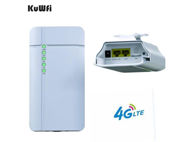KuWFi GC112-3D Outdoor 4G LTE Wireless CPE Router 150Mbps Waterproof CAT4  Wireless Router - Newegg com