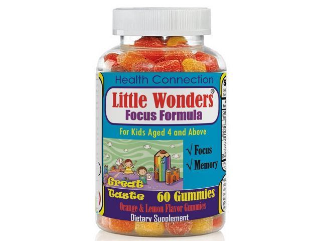 Kids Brain Supplement Memory Booster Gummies Great Taste Brain Focus Vitamins For Kids Children Teens With Omega 3 6 9 Dha Epa Improve Immunity Mental Focus Concentration Attention Newegg Com
