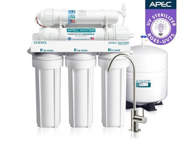 Apec Top Tier Uv Ultra Violet Sterilizer 75 Gpd 6 Stage