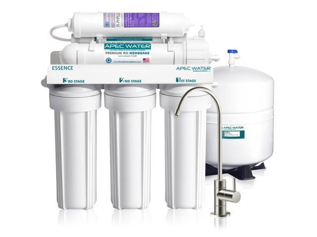 APEC Top Tier Alkaline Mineral pH+ 75 GPD 6-Stage Ultra Safe Reverse  Osmosis Drinking Water Filter System (ESSENCE ROES-PH75) - Newegg com