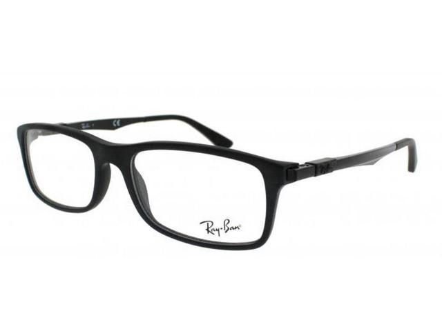 50faa958530 RAY BAN Eyeglasses RX 7017 5196 Matte Black 54MM - Newegg.com