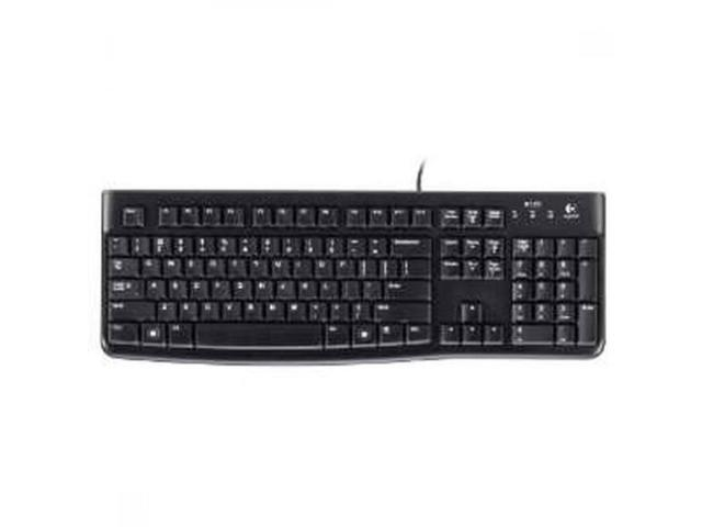 Logitech Keyboard 920-002478 Desktop K120 USB Black - Newegg com
