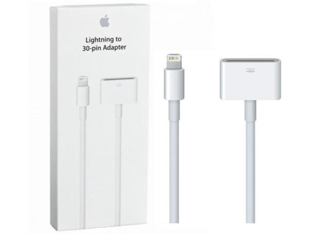 Genuine Apple Md824zm A Lightning To 30 Pin Adapter 0 2 M
