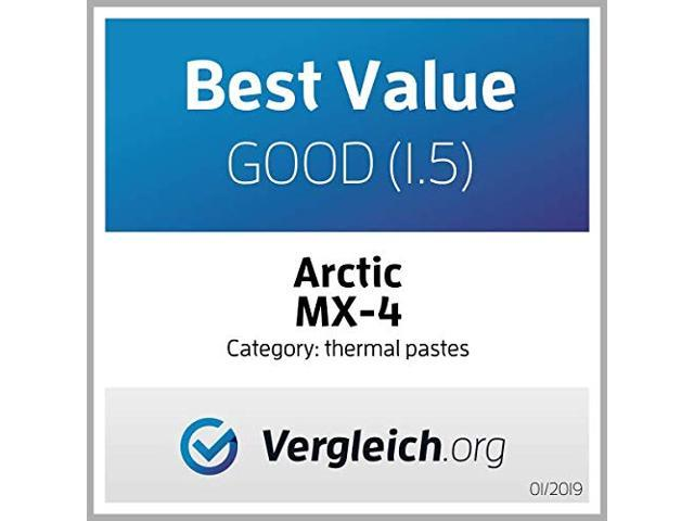 ARCTIC MX-4 2019 Edition - Thermal Compound Paste - Carbon Based High  Performance - Heatsink Paste - Thermal Compound CPU for All Coolers,  Thermal