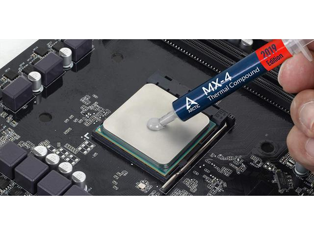 Arctic Mx 4 2019 Edition Thermal Compound Paste Carbon Based High Performance Heatsink Paste Thermal Compound Cpu For All Coolers Thermal Interface Material High Durability 8 Grams Newegg Com