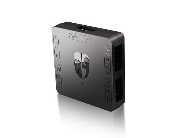 Deepcool RGB Convertor - Convert 3-pin (+5V) ARGB Fans to 4-pin (+12V) RGB  Capable Motherboard - Newegg com