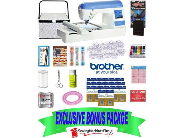 Brother PE40 Embroidery Machine With USB Port Exclusive Bonus Simple Brother Embroidery And Sewing Machine With Usb Port