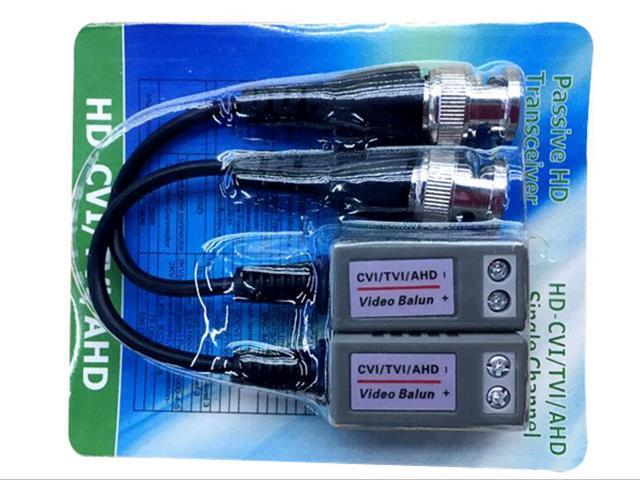 10X Passive HD Transceiver HD-CVI TVI AHD Single Channel Video Balun For Camera