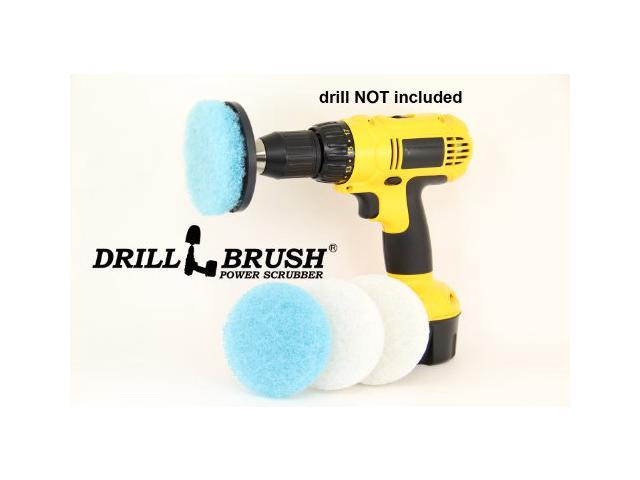 Electric Handheld Scrubber Attachment Tub And Tile Bathroom Cleaning Kit