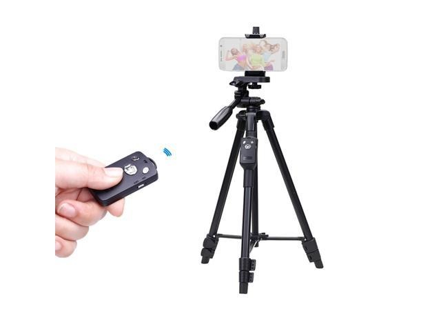 watch 83651 8e214 YUNTENG 5208 43cm-125cm Light Weight Aluminum Tripod With Bluetooth Remote  for iPhone 6s Plus Samsung Mi Smartphone - Newegg.com
