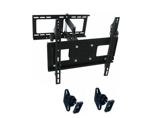 Tygerclaw 23 To 42 Inch Full Motion Wall Mount With Two