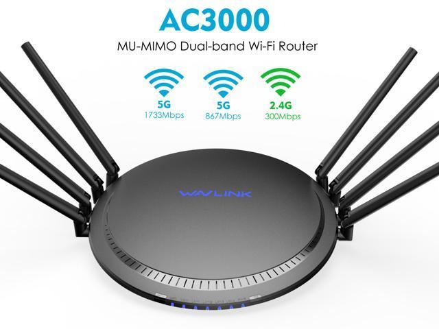 Brand New UTT AC60 Dual Band AC1200 Wireless Router WiFi VPN USB 4 Port 5Antenna