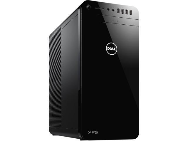 2017 Newest Flagship Model Dell XPS 8920 Premium High Performance Tower Desktop, Intel Quad-Core i7-7700 3.6GHz, 24GB RAM, 1TB HDD+256GB SSD, 8GB AMD Radeon RX 480 Graphics, Windows 10, Black