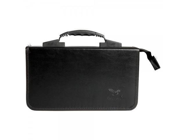 Fashionable 200 Disc CD DVD Storage Bag Holder Case Black