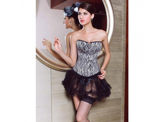 Sexy plus size corset