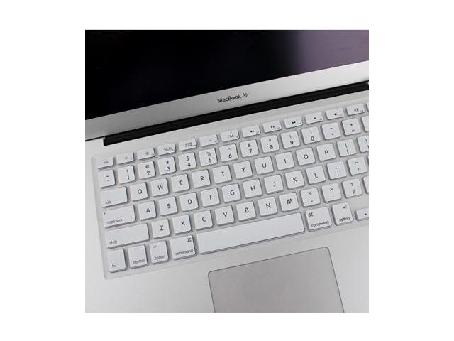 new concept cc56a 149ea ENKAY Soft Silicone Keyboard Protector Cover Skin for MacBook Air 13.3 inch  / Macbook Pro with Retina Display (13.3 inch / 15.4 inch ), White - ...