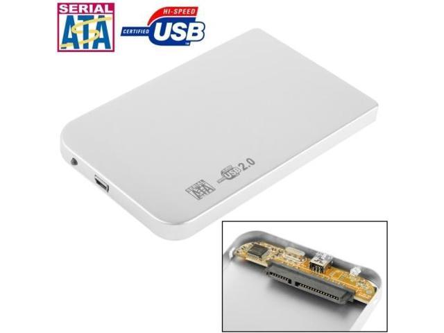 126mm x 75mm x 13mm Durable Size 2.5 inch SATA HDD External Case Color : Red