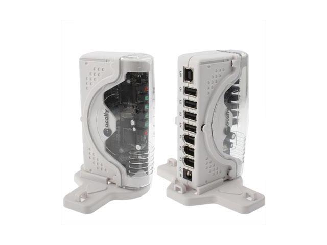 2 in 1 ( 4 Port USB 2.0 Hi-Speed + 3 Port IEEE 1394 FireWire) Hub ...