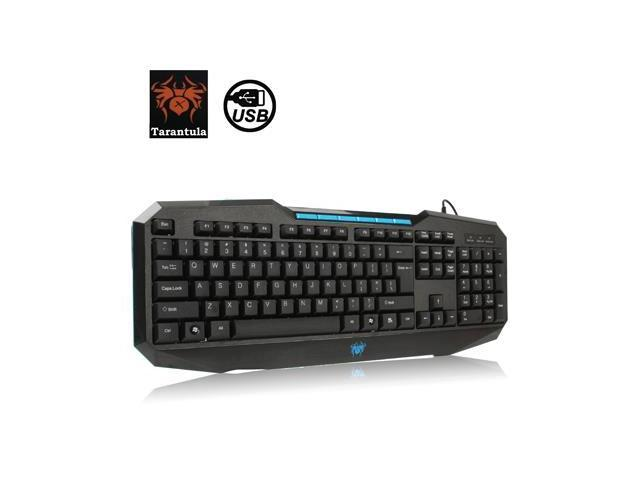 aula series 110 keys high end wired gaming keyboard with 6 x