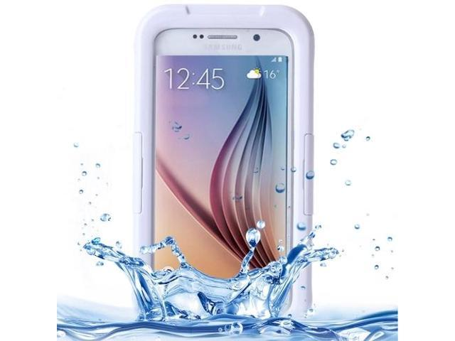 new style 0e4d3 2806e IPX8 Waterproof PVC Case with Touch Responsive Front for Samsung Galaxy S6  / S6 Edge (White) - Newegg.com