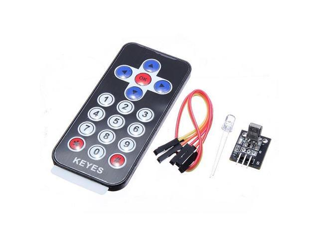 5Pcs Infrared IR Receiver Module Wireless Control Kit For Arduino -  Newegg com