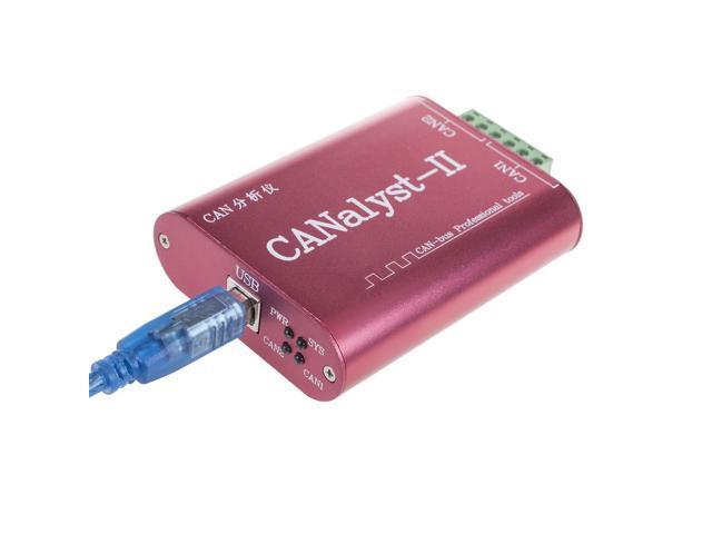 CANOpen J1939 DeviceNet USBCAN-2 CANalyst-II - Newegg com