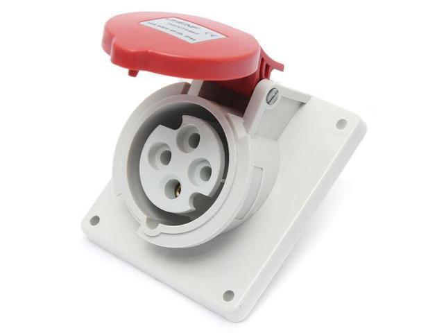 Cf1467 Ip44 4 Pin Industrial Waterproof Outdoor Power Outlet Socket