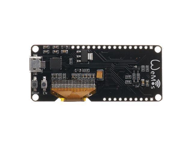 Wemos Lolin ESP32 OLED Module For Arduino ESP32 OLED WiFi+Bluetooth Dual  ESP-32 ESP-32S ESP8266 OLED Module With ESP8266 Expansion Plate - Newegg com