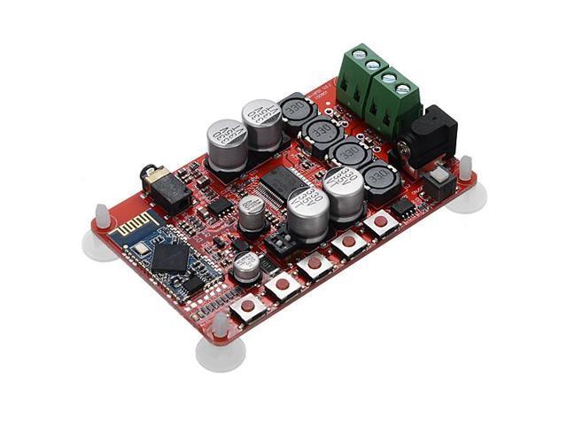 SANWU 25W+25W TDA7492P Bluetooth CSR4 0 Audio Receiver Digital Amplifier  Board - Newegg com