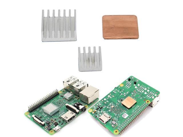 Aluminum Heat Sink Copper Heat Sink For Raspberry Pi 3 Model B / Pi 2 / B+  - Newegg com