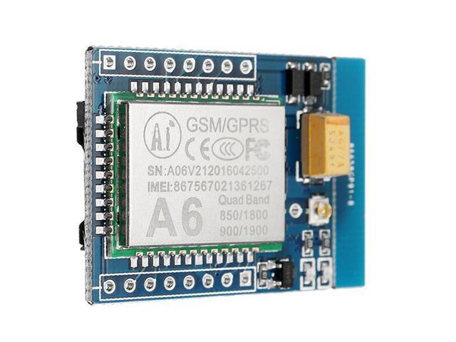 GA6 5V Mini GPRS / GSM Module A6 SMS / Voice Development Board FCC