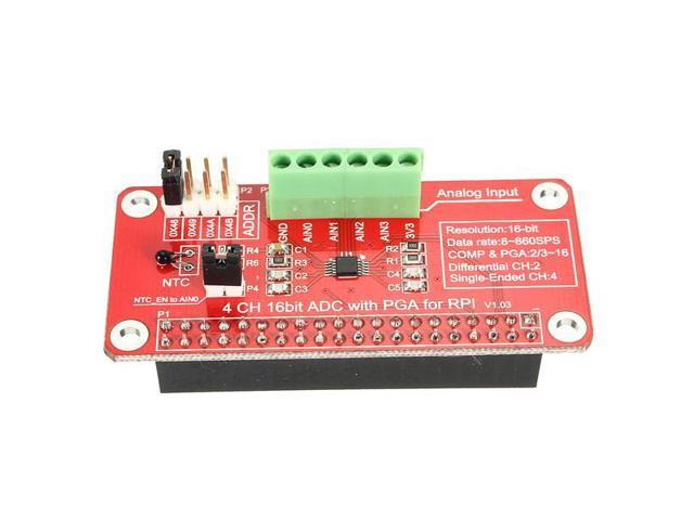 ADS1115-ADC Module For Raspberry Pi 3 / 2 / B+ - Newegg com