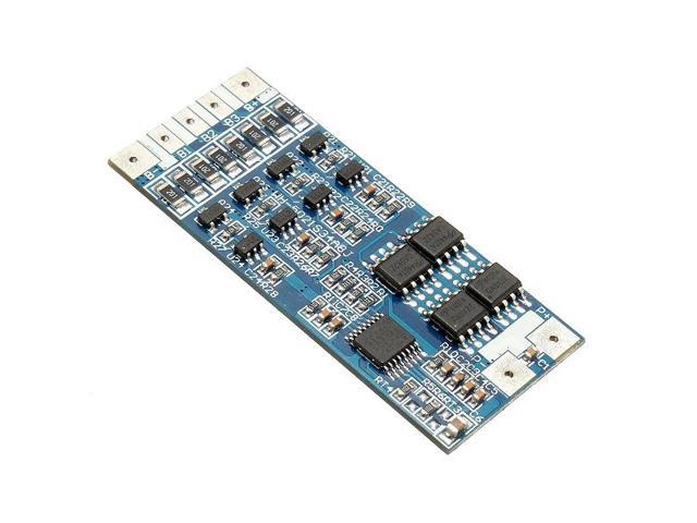 4-Cell 8A 14.8V Lithium Battery Charging Protection Board PCB Li-Ion 18650 4S