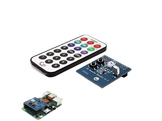IR Infrared Receiver and Transmitter Expansion Board For Raspberry Pi -  Newegg com