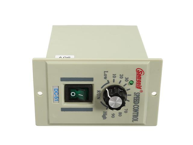 AC 110V DC-51 1//3 phase Motor Speed Control Controller Variable For DC 90V 400W